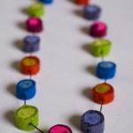 Multifarve, bomuld, 70 cm