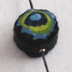 Grøn/blå/sort, bomuld